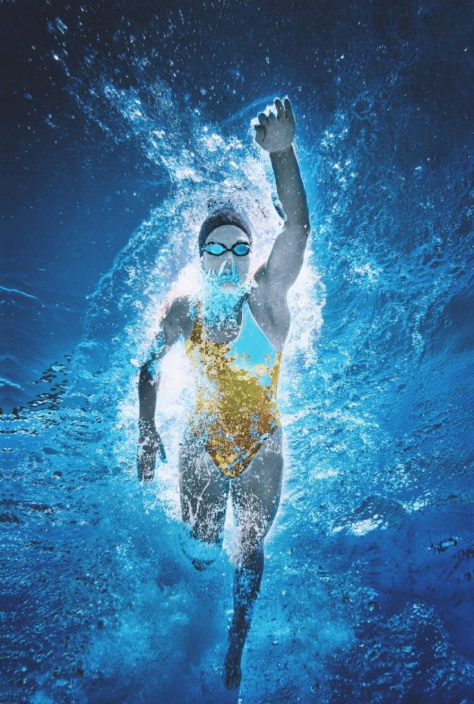 Free picture: swimming pool, water, sports, exercise, fun